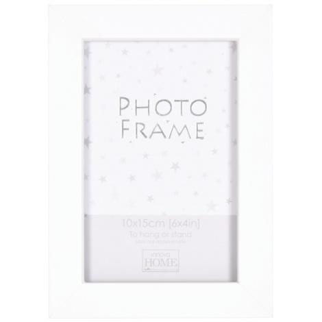 bílý MDF fotorámeček 10x15cm BIANCA