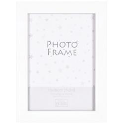 Bílý MDF fotorámeček 13x18cm BIANCA
