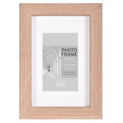 MDF fotorámeček 10x15cm BLOCK FRAME dub