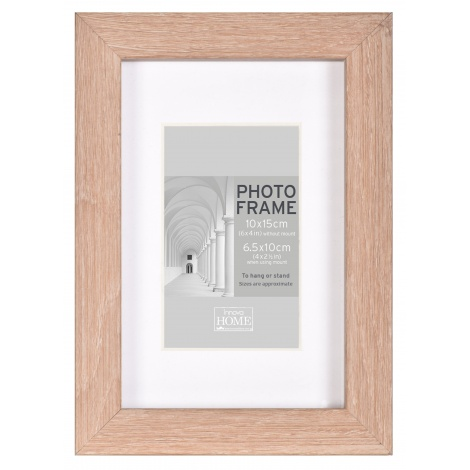 MDF fotorámeček 20x25cm BLOCK FRAME dub