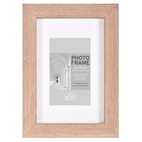 MDF fotorámeček A4 21x30cm BLOCK FRAME dub