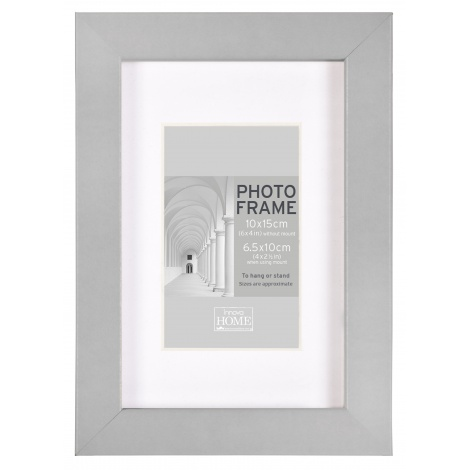 MDF fotorámeček 15x20cm BLOCK FRAME šedý