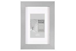 MDF fotorámeček 18x24cm BLOCK FRAME šedý