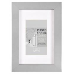 MDF fotorámeček 20x25cm BLOCK FRAME šedý