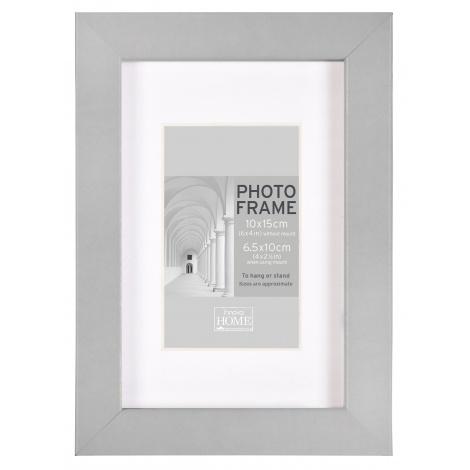 MDF fotorámeček 24x30cm BLOCK FRAME šedý