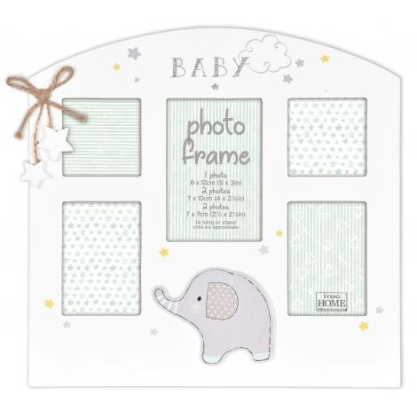 Dětský fotorámeček na víc fotek Glitter Elephant