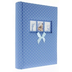 Dětské samolepící fotoalbum 24x29/40s DREAMLAND modré