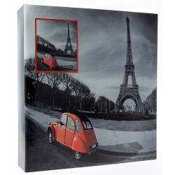 Samolepící fotoalbum 100s. RED auto