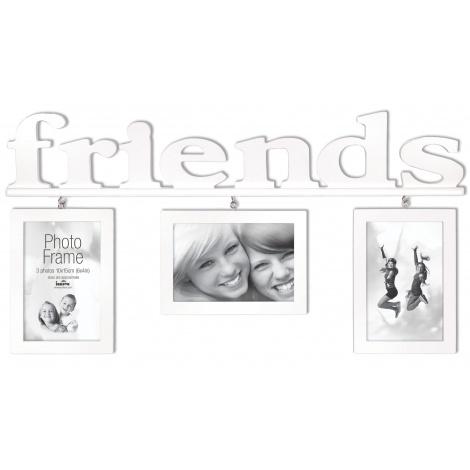 Fotorámeček na více foto Friends 3-10x15 s fotorámečkem A4 ZDARMA