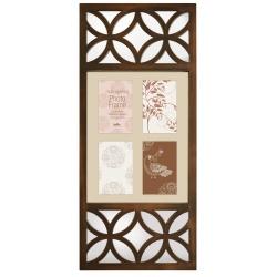 Bronzový fotorámeček na 4 fotky s Fotorámečkem 20x30 ZDARMA