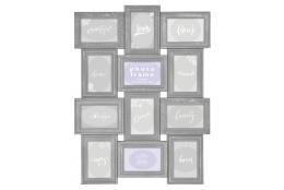 Broušený fotorámeček na více foto galerie na 12 fotografií 10x15