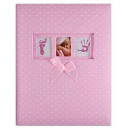 Dětské fotoalbum 10x15/300 DREAMLAND růžové