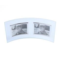 skleněný rámeček dvojitý 2*(7x5cm) šířka