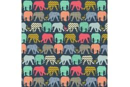 Dětské fotoalbum 10x15/140 ELEPHANTS NAVY