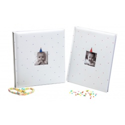 Dětské fotoalbum na růžky  BABY CLOWN 29x32/60
