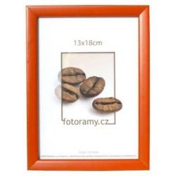 Dřevěný fotorámeček DR0C2 13x18 červený
