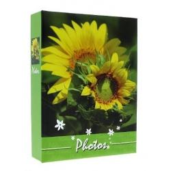 Fotoalbum 9x13/100 FLOWERS zelené