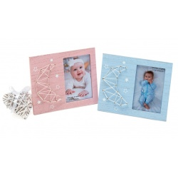 Dětský fotorámeček BABY´s MOON 10x15 růžový