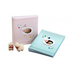 Dětské fotoalbum 13x18/200 foto BABY´s HEAVEN růžové