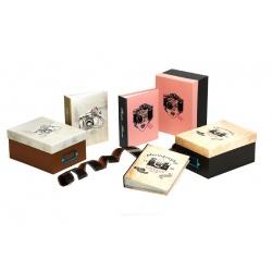 Krabice na fotografie 10x15 na 700 foto CAMERA šedá