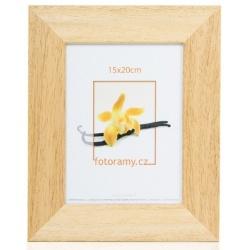 Dřevěný fotorámeček DR4510K 18x24 06 pinie