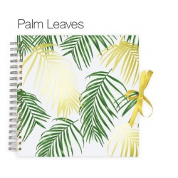 Scrapbook fotoalbum PALM LEAVES 25x25/50s