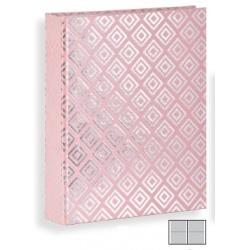 Dětské fotoalbum 10x15/160 DIAMOND Blush růžové