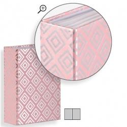 Dětské fotoalbum 10x15/80 DIAMOND Blush růžové