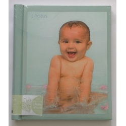 Dětské samolepící fotoalbum RACHAEL HALE 26x32 cm 30 stran zelené