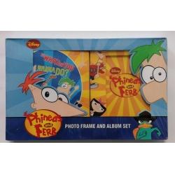 Set album 10x15/72 + rámeček 10x15 Disney Phineas and Ferb