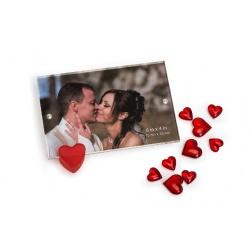 Akrylový fotorámeček 10x15 HEART
