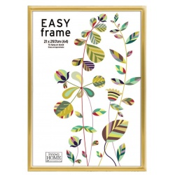 Zlatý plastový fotorámeček 21x29,7cm/A4 EASY Frame