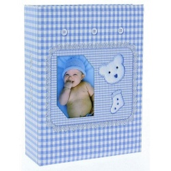 Dětské fotoalbum 10x15/100 BABY modré
