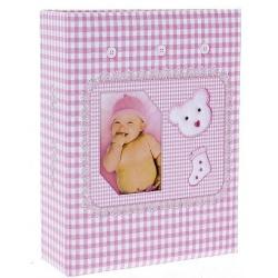 Dětské fotoalbum 10x15/100 BABY růžové