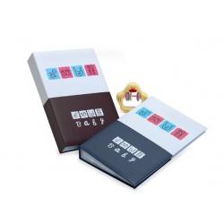 Dětské fotoalbum 10x15/300 foto s pop. BABY BOOK modré