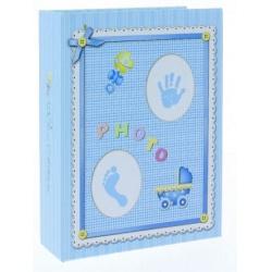 Dětské fotoalbum 10x15/100 BABY-3 modré