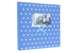 Zastrkávací fotoalbum 10x15/500 MIRACLE modré