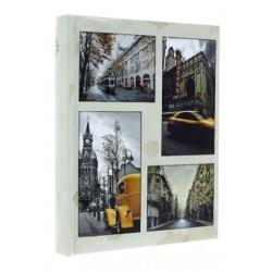 Fotoalbum 10x15/200 CITY TIME žluté auto