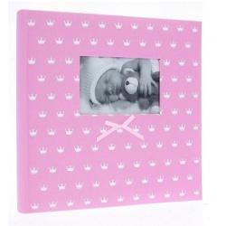 Zastrkávací fotoalbum 10x15/500 MIRACLE růžové