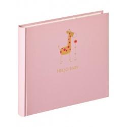 Dětské klasické fotoalbum Baby Animal 25x28/50stran růžové