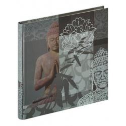 Klasické fotoalbum Buddha 26x25/40 šedá