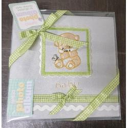 Dětské fotoalbum 10x15/180 foto s popisem Stitched Bear