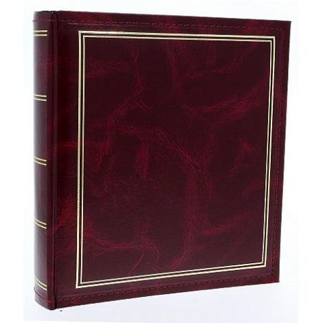 Zastrkávací fotoalbum 10x15/600 Classic vínové