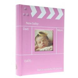 Dětské fotoalbum 10x15/300 popis SNAP růžové