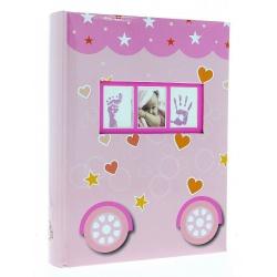 Dětské fotoalbum 10x15/300 PETITE růžové