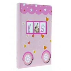 Dětské fotoalbum 10x15/300-3 PETITE růžové