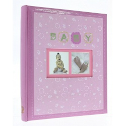 Dětské fotoalbum 10x15/300 SWEETY růžové
