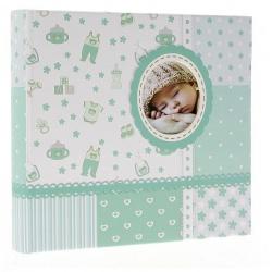 Dětské fotoalbum 10x15/200 BABY6G s popisem modré