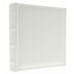 Kožené fotoalbum 10x15/300 s popisem WHITE