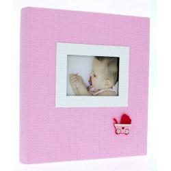 Dětské fotoalbum 10x15/300 HONEY růžové